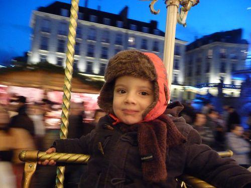 Manège Place Royale Nantes, décembre 2009
