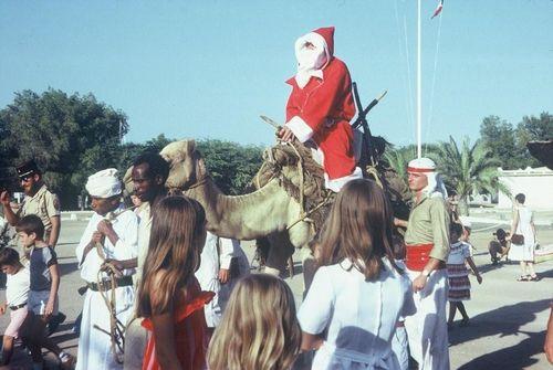Père Noël Dromadaire Djibouti