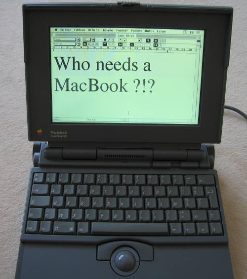 Macbook 165 :-)