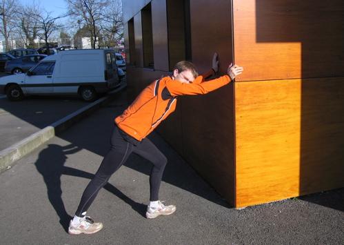 JY tient le mur