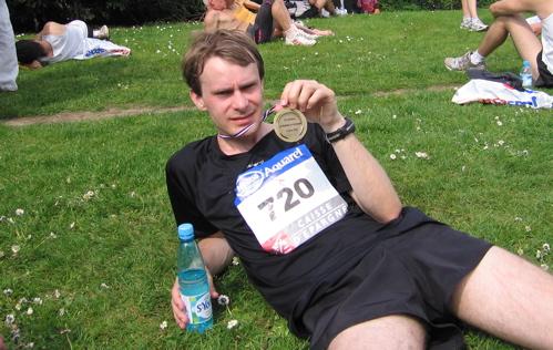 Marathon de Nantes, ma médaille !!