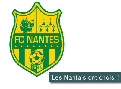 Nouveau blason FC Nantes