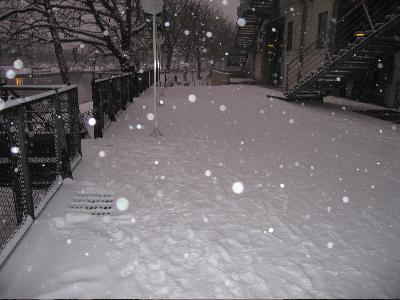Neige à Nantes